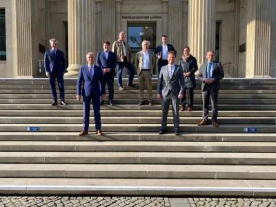 Eröfffnung Foto niedersächsischer Landtag